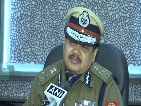 Director General of Police (DGP), Assam, Bhaskar Jyoti Mahanta speaking to ANI in Guwahati on Tuesday. Photo/ANI