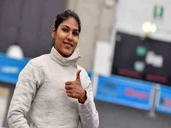 India fencer Bhavani Devi (Photo/ Kiren Rijiju Twitter)