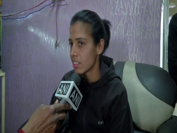 Indian female race walker Bhawna Jat