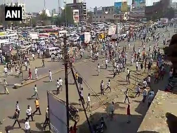 Visuals from Bhima Koregaon violent protest (File photo)