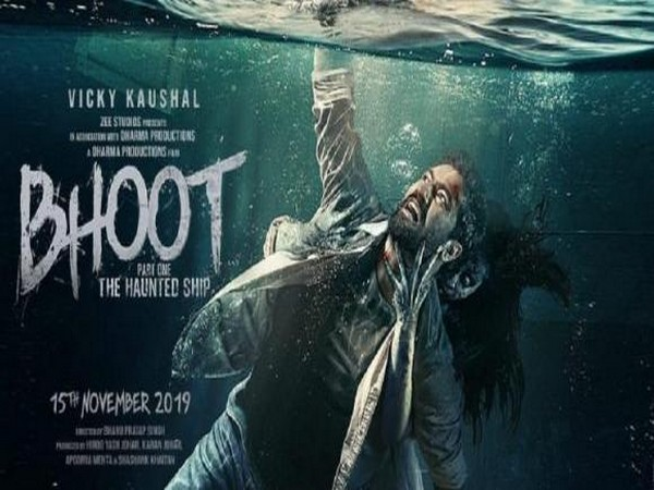A poster of the upcoming horror-thriller 'Bhoot: The Haunted Ship' (Image courtesy: Twitter)