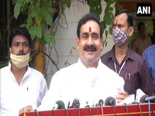 Madhya Pradesh Home Minister Narottam Mishra. Photo/ANI