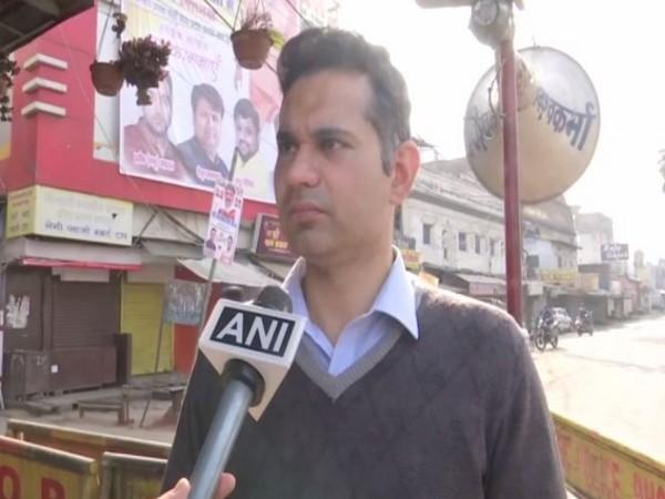 Avinash Lavania, District Collector of Bhopal (Photo/ANI)