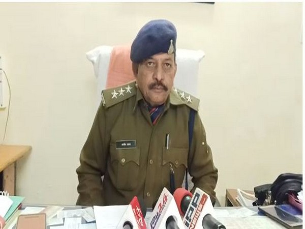 CSP Alim Khan speaking to reporters in Bhopal. Photo/ANI