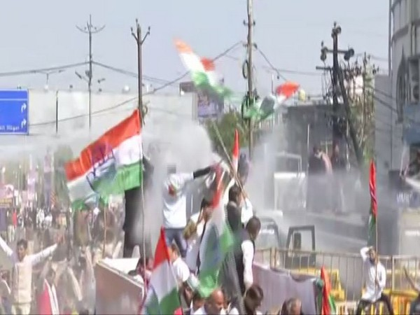 Visual from the protest in Bhopal