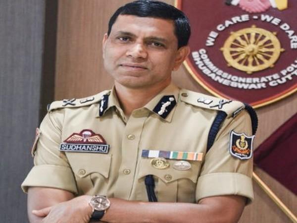 Dr Sudhanshu Sarangi, Commissioner of Police, Bhubaneswar (Official Twitter account)