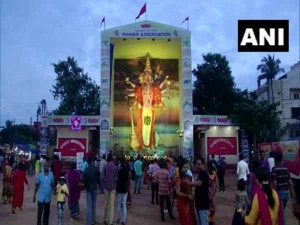 46-feet tall idol of lord Ganesha erected in Bhubaneshwar