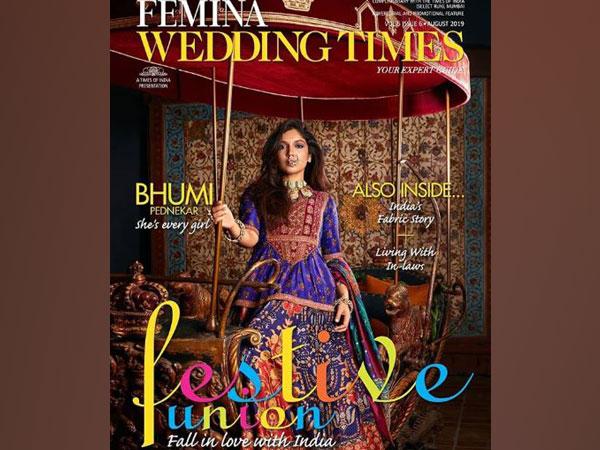 Bhumi Pednekar on magazine cover (Image Courtesy: Instagram)