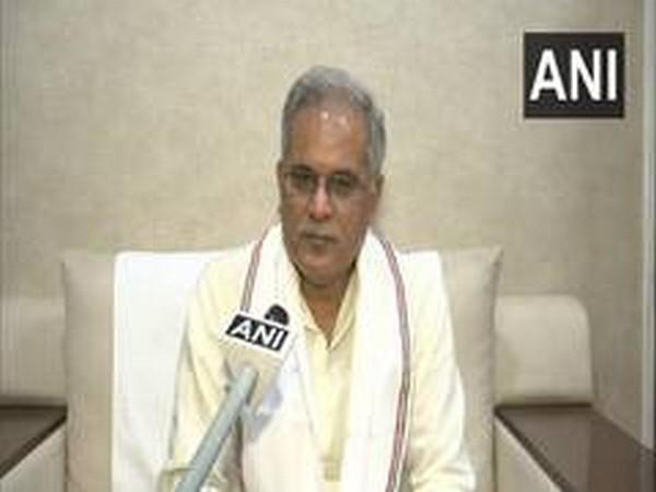Chhattisgarh Chief Minister Bhupesh Baghel. [Photo/ANI]