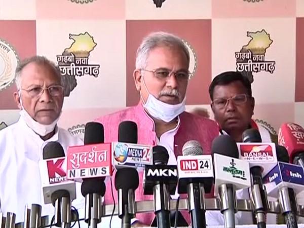 Chhattisgarh CM Bhupesh Baghel (Photo/ ANI)