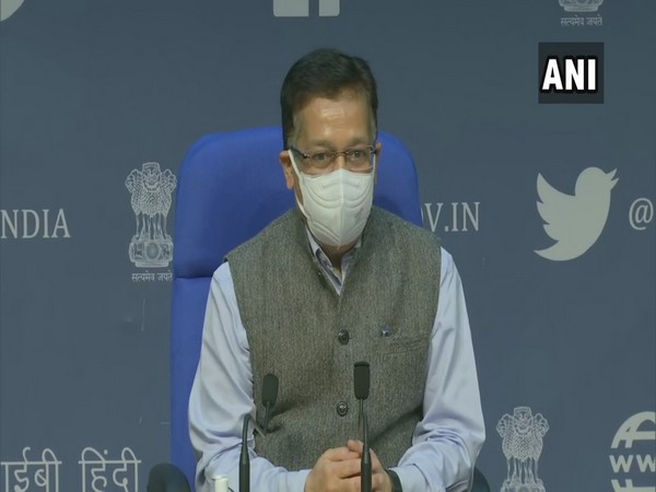 Rajesh Bhushan, Union Health Secretary during press conference on Tuesday.