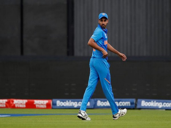 Indian pacer Bhuvneshwar Kumar