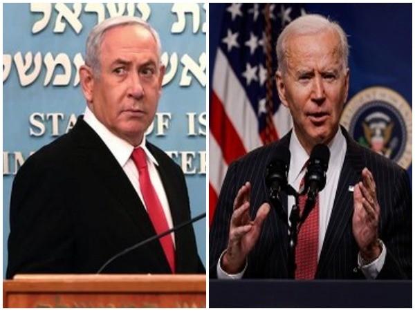 Israel Prime Minister Benjamin (l) Netanyahu and US President Joe Biden (File Image)