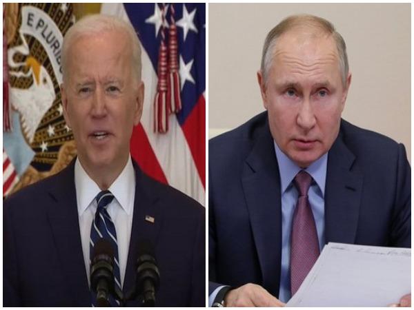 US President Joseph Biden on Tuesday spoke with his Russian counterpart President Vladimir Putin.
