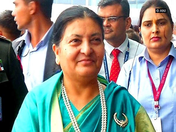 The President of Nepal, Bidhya Devi Bhandari (file photo)
