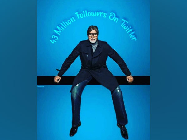 Legendary actor Amitabh Bachchan garners 43 million followers on Twitter. (Image source: Instagram)