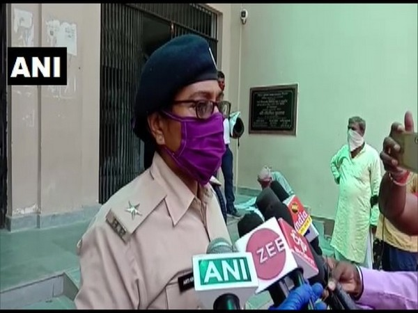Aarti Jaiswal, Station Incharge, Women Police Station, Patna speaking to reporters on Tuesday.