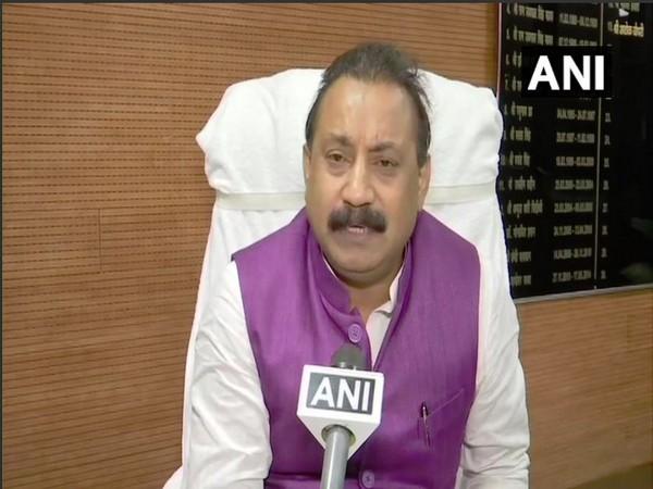 Bihar Minister Ashok Chaudhary speaking to ANI on Sunday