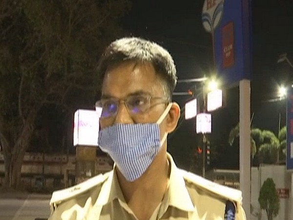 Additional SP OP Sharma speaking to ANI in Bilaspur on Sunday.