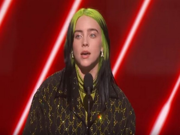 Billie Eilish at the 62nd Annual Grammys (Image courtesy: Official YouTube channel of Grammys)