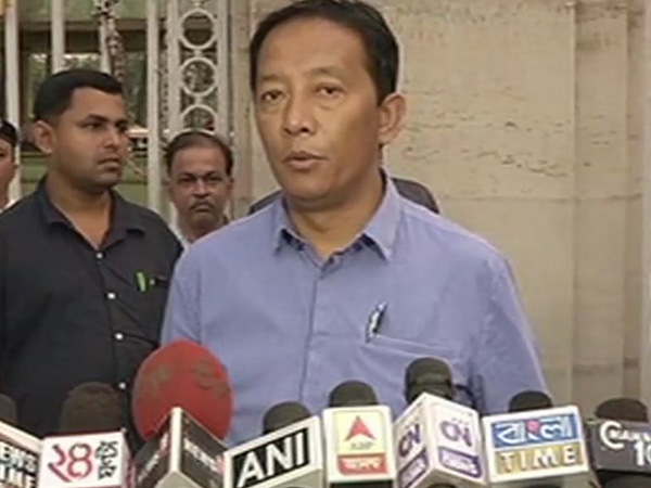 GJM (Binoy) faction leader Binoy Tamang (File photo)
