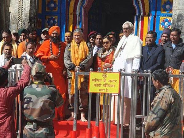 Army Chief General Bipin Rawat at Kedarnath temple on Wednesday. [Photo/ANI]