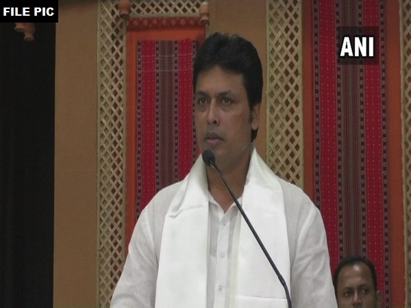 Tripura Chief Minister Biplab Kumar Deb (File Photo/ANI)