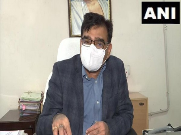 Birendra Singh, Director, Rajasthan Animal Husbandry Department speaking with ANI. (Photo/ANI)