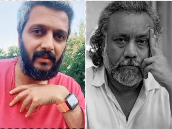 Actor Riteish Deshmukh and director Anubhav Sinha (Image source: Twitter)