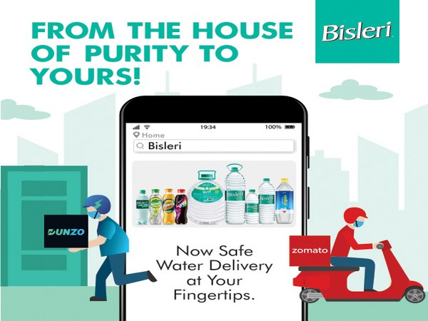Bisleri partners with Zomato and Dunzo for Direct home delivery service