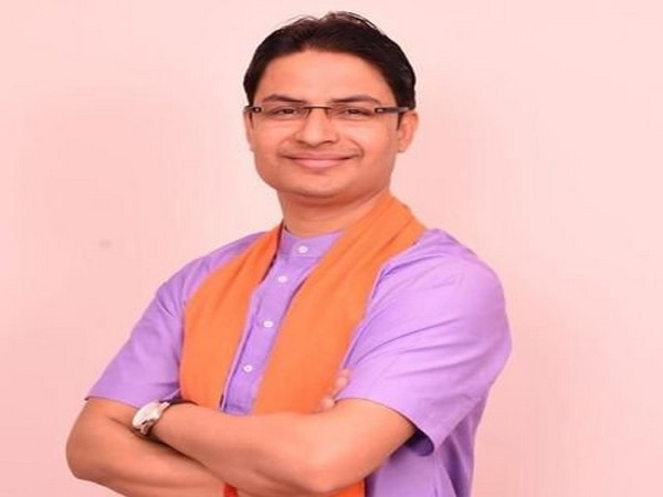 BJP MP from Darjeeling, Raju Bista. Photo/Twitter