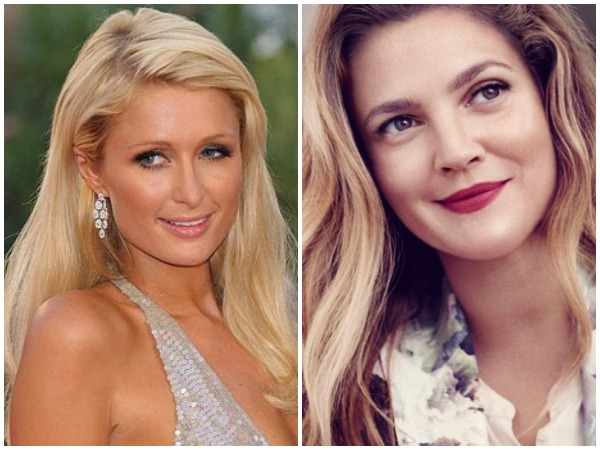 Paris Hilton and Drew Barrymore