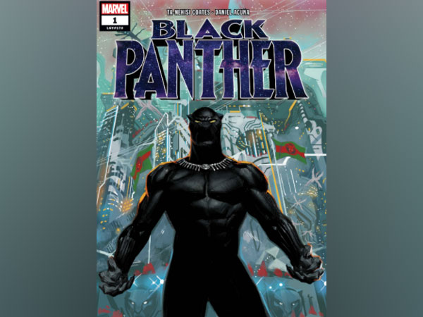 Cover poster of Black Panther (Image Source: Marvel Comic's website)
