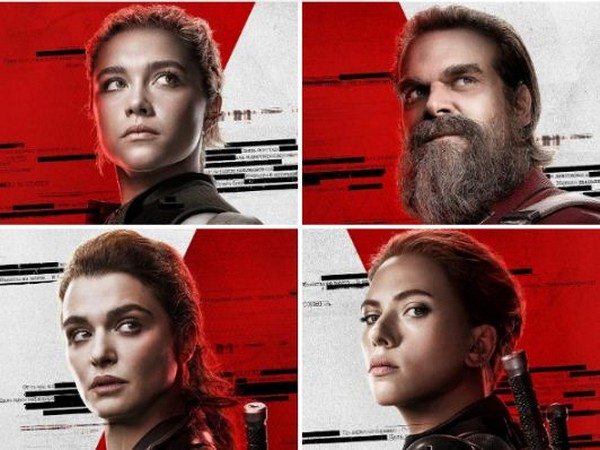 Character posters from the upcoming movie 'Black Widow' (Image courtesy: Twitter)