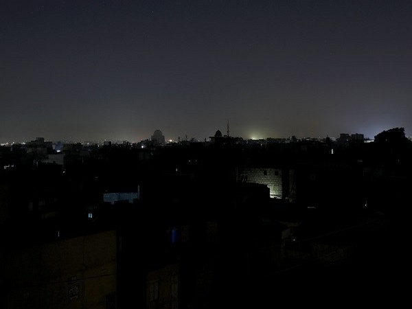 Blackout in Pakistan on Saturday.