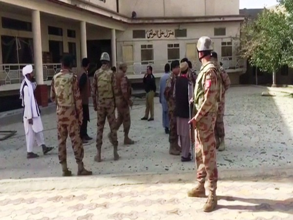 Blast at Kuchlak Madrasa on Friday, Photo/ANI
