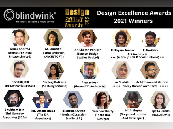 Blindwink - Design Excellence Awards 2021 Winners