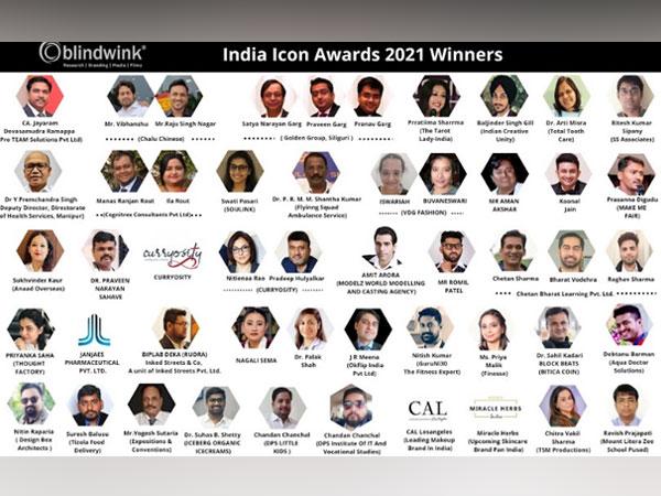 Blindwink - India Icon Awards 2021 Winners