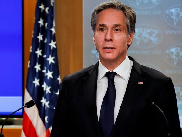 US State Secretary Antony J Blinken