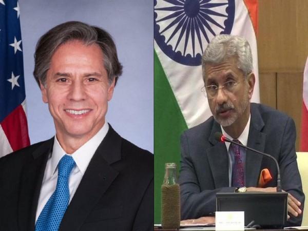 US Secretary of State Antony Blinken and External Affairs Minister S Jaishankar