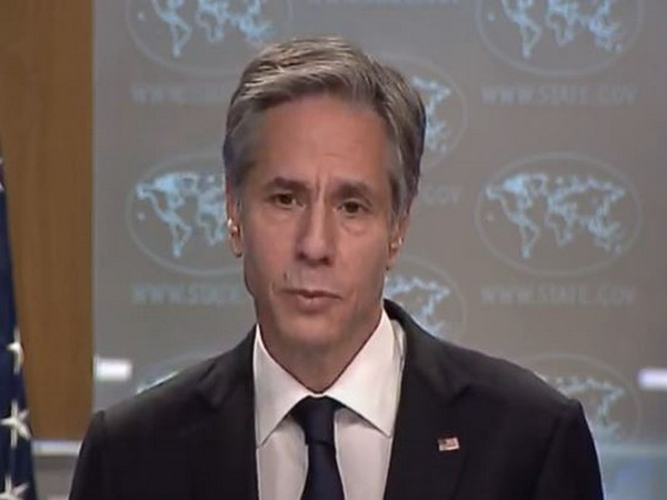 US Secretary of State Antony Blinken at a press briefing in Washington on Wednesday. (Photo Credit: Secretary of State Youtube)
