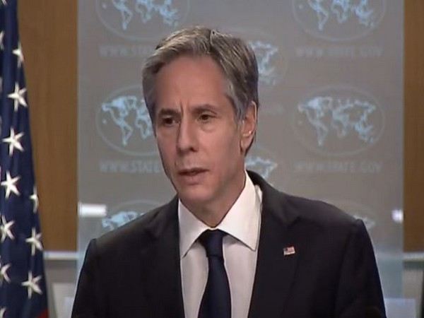 US Secretary of State Antony Blinken speaking during a press conference on Wednesday. (Photo Credit: US State Department Youtube)