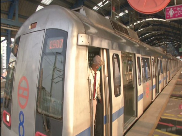 DMRC resumed services on Blue Line on Wednesday. (Photo/ANI)