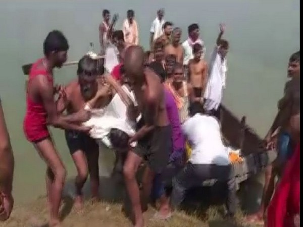 11 people died after boat capsized in Rajasthan's Kota on Wednesday. Photo/ANI