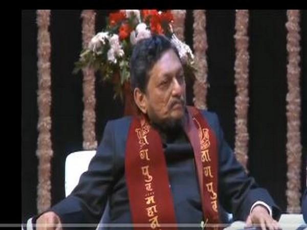 CJI Sharad Bobde at the 107th convocation of the Rashtrasant Tukadoji Maharaj Nagpur University. (Photo/ANI)