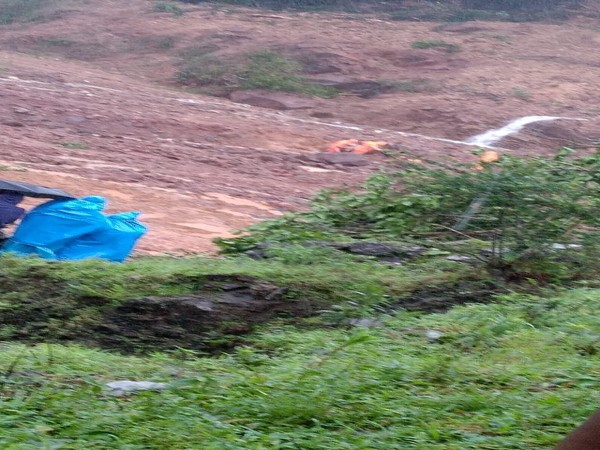Body of one of the five people who went missing after landslide in Kodagu found on Saturday. Photo/ANI