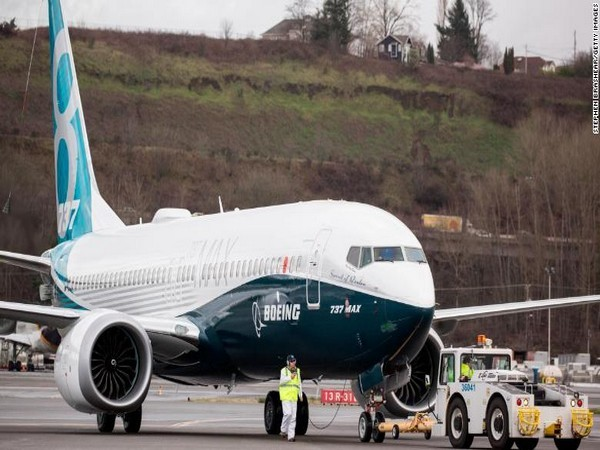 A file photo of Boeing 737 Max 8