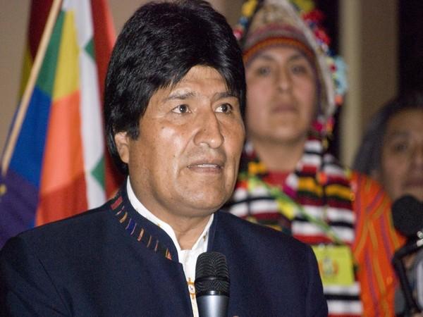 Evo Morales (File pic)