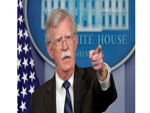 US National Security Advisor John Bolton (File Photo)