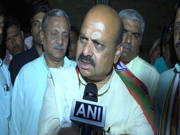 BJP MLA Basavaraj Bommai while speaking to ANI in Karnataka. Photo/ANI